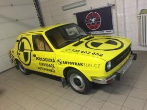Autovrak Zlín Škoda 120