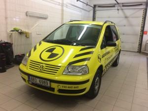 Autovrak Zlín VW Sharan