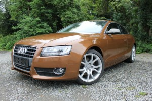AUDI A5 brown metalic a titanium carbon