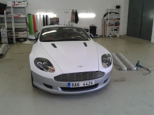 Aston Martin White matt