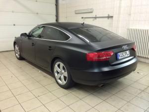 Audi black matt