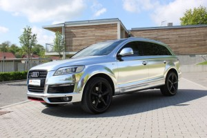 Audi Q7 Chrome matt