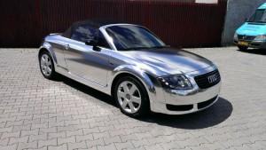 Audi TT Chrome