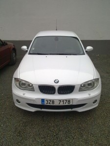BMW 1 white gloss KPMF