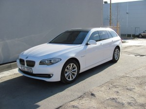 BMW 5 COMBI white gloss
