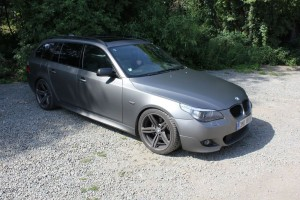 BMW 5 gray matt APA