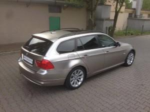 BMW 5 Matný chrom