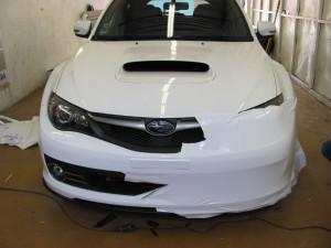 Subaru Impreza white matt